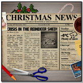 Christmas Newspaper Project