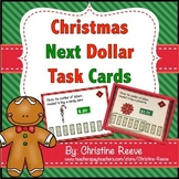 Christmas Next Dollar Up Task Cards (Special Ed.; Life Skills)