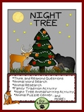 Christmas- Night Tree: A Comprehension and Activity Guide