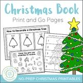 Christmas Activity Packet - No Prep Printables
