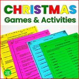 Christmas Math and ELA Activities
