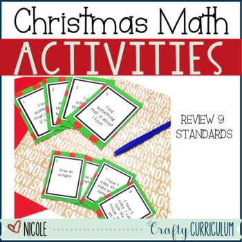 Christmas No Prep Math Activities