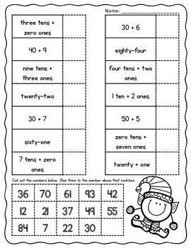 Christmas (No Prep) Math Packet