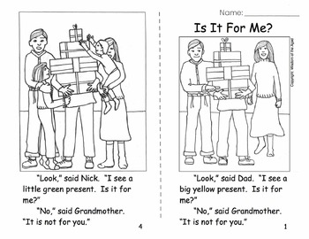 Christmas - No Prep Printable Book - Worksheets - Lesson Plans - Evaluation
