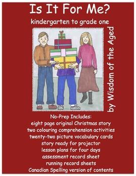Christmas - No Prep Printable Book - Worksheets - Lesson P