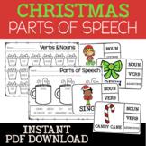 Christmas No Prep Printables {Literacy Centers}