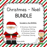 Christmas - Noël BUNDLE (English & French)