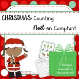 Christmas - Noël COUNTING (English & French)