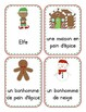 Christmas - Noël WORD CARDS (English & French)
