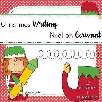 Christmas - Noël WRITING (English & French)