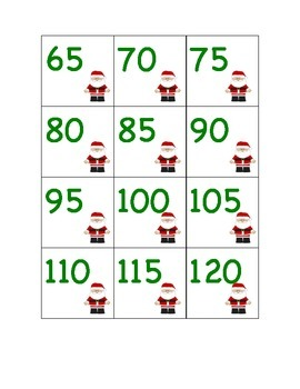 Christmas - Noël : centres de maths