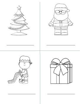 Christmas Nomenclature Book