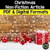 Christmas Non-Fiction Article