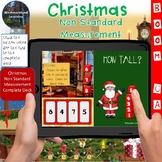 Christmas Non Standard Measurement Interactive Digital Boom Flash Cards