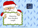 Christmas Non Standard Measurement Length Smart Board Lesson
