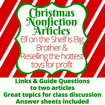 Christmas Nonfiction Article Guides