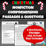 Christmas Nonfiction Comprehension Passages