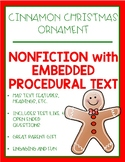 Christmas Nonfiction Procedural Cinnamon Ornaments