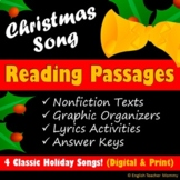 Christmas Reading Activities - Printable & Digital
