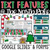 Christmas Nonfiction Text Features | Digital Reading Activity | Google Slides™