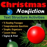 Christmas Nonfiction Passages for Text Structures - Printa