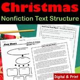 Christmas Nonfiction Text Structure Articles