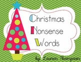Christmas {Nonsense Word Cards}