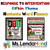 Christmas  Nonsense Word Fluency R.T.I. Resource Bundle (E