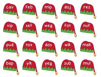 Christmas Nonsense Word Game