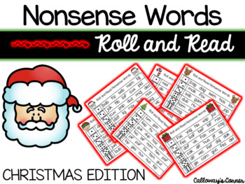 Christmas Nonsense Words-EDITABLE POWERPOINT INCLUDED