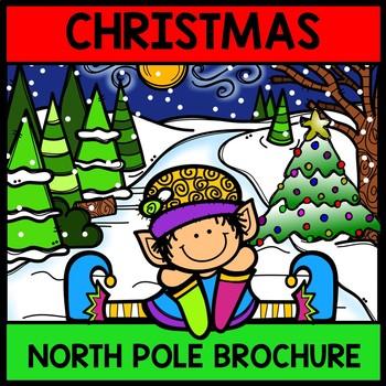 Christmas North Pole Tour Brochure {100% Editable} {Readin