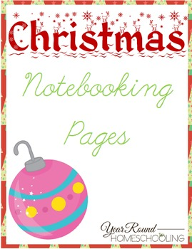 Christmas Notebooking Pages