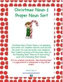 Christmas Noun & Proper Noun Sort
