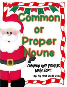 Christmas Noun Sort-