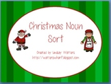 Christmas Noun Sort - proper and common nouns