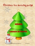 Nouns Activity - Common and Proper Nouns (Winter Holiday)
