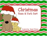 Christmas Noun & Verb Sort