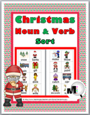 Christmas Nouns and Verbs Sort