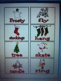 Christmas Noun and Verb Word Sort