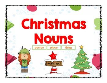 Christmas Nouns