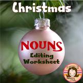 Christmas Nouns Editing