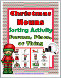 Christmas Nouns Sort