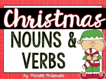 Christmas Nouns & Verbs