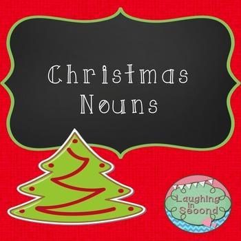 Christmas Nouns Worksheet
