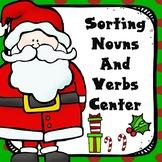 Christmas Nouns and Verbs Sort