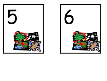 Christmas Number Bingo Games- Numbers 5 to 20