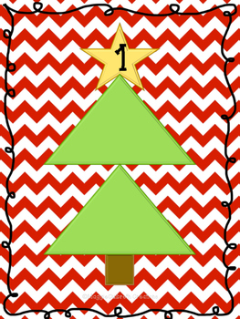 Christmas Number Bond Math Mats {FREEBIE}