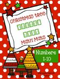 Christmas Number Bond Math Mats {FREEBIE}
