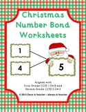 Christmas Number Bond Worksheets