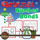 Christmas Math Worksheets - Number Bonds